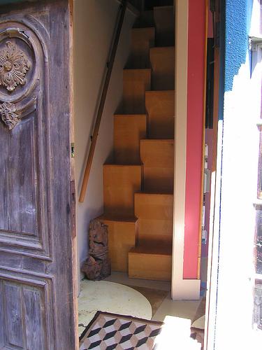 Charles moore alternating tread stair