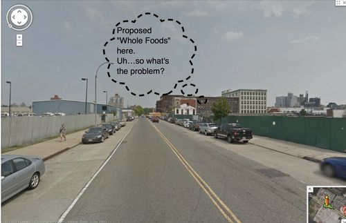Proposed Whole Foods here