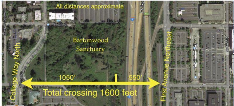 N'gate Ped Bridge aerial